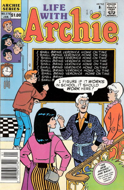 Cover for Life with Archie (Archie, 1958 series) #276