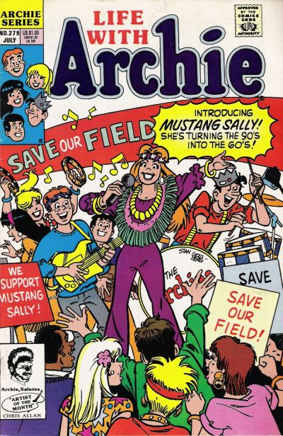 Cover for Life with Archie (Archie, 1958 series) #279