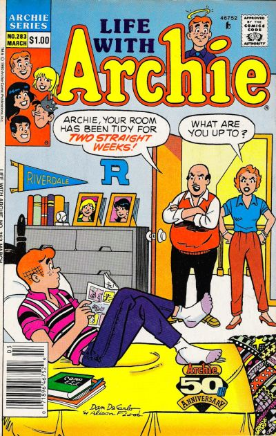 Cover for Life with Archie (Archie, 1958 series) #283