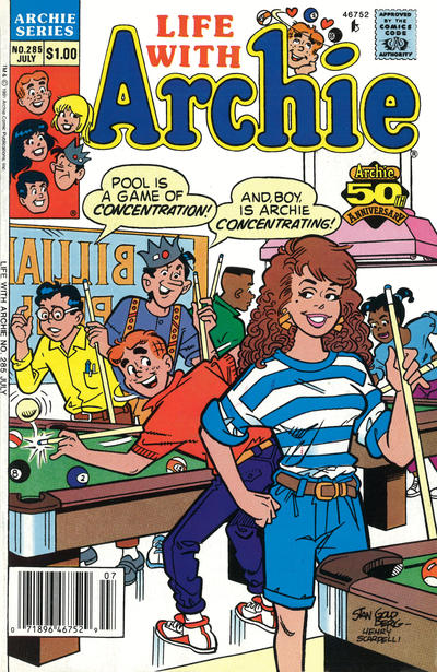 Cover for Life with Archie (Archie, 1958 series) #285
