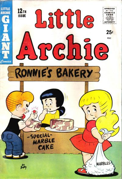Cover for Little Archie Giant Comics (Archie, 1957 series) #12
