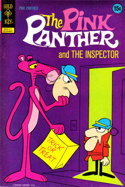 Cover for The Pink Panther (Western, 1971 series) #9
