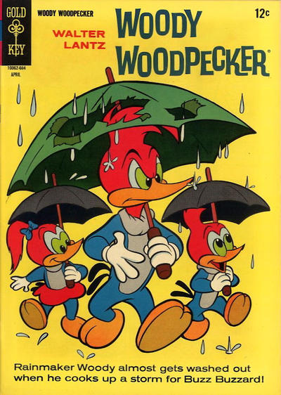 Cover for Walter Lantz Woody Woodpecker (Western, 1962 series) #90