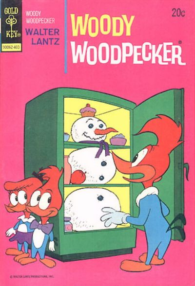 Cover for Walter Lantz Woody Woodpecker (Western, 1962 series) #135 [Gold Key]