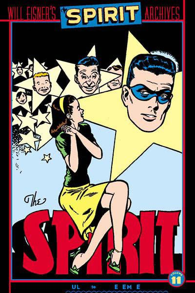 Cover for Will Eisner's The Spirit Archives (DC, 2000 series) #11