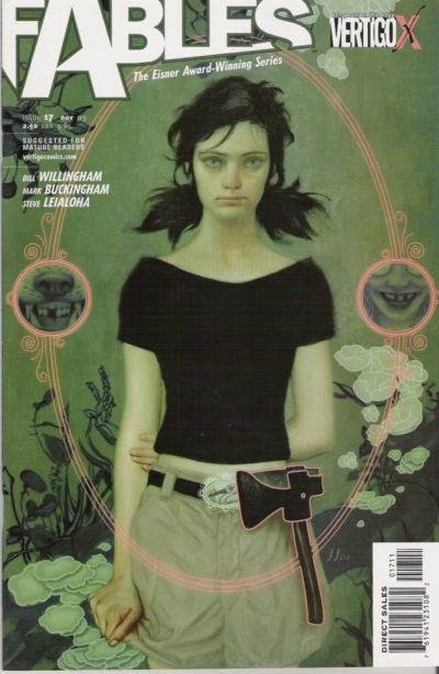Cover for Fables (DC, 2002 series) #17