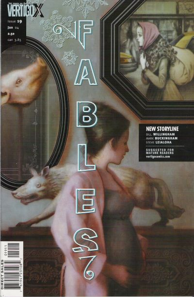Cover for Fables (DC, 2002 series) #19