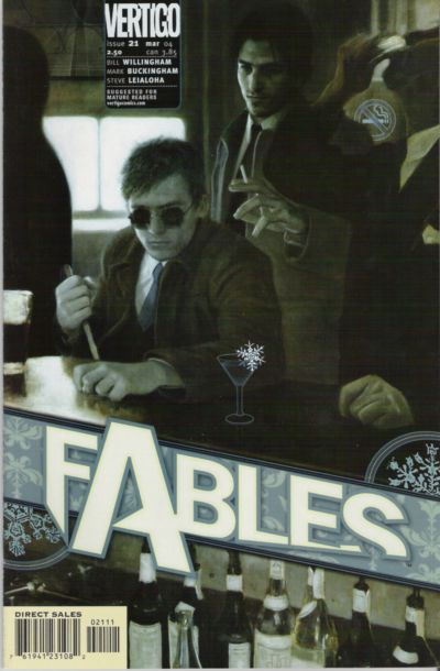 Cover for Fables (DC, 2002 series) #21