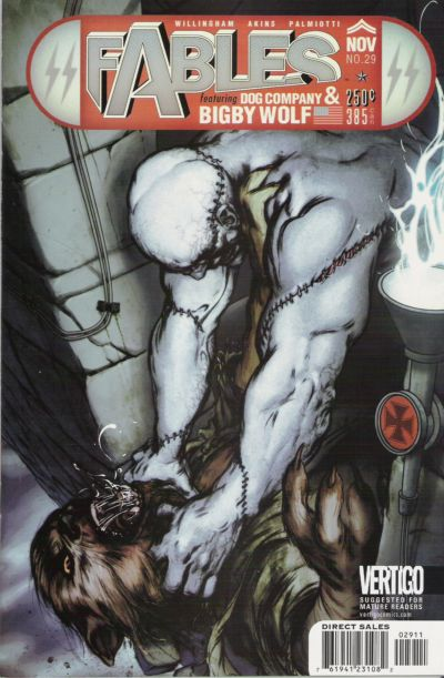 Cover for Fables (DC, 2002 series) #29