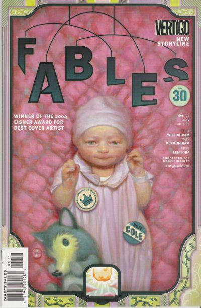 Cover for Fables (DC, 2002 series) #30