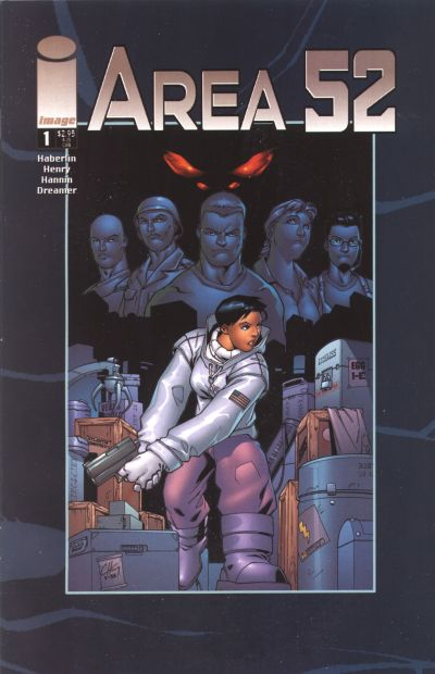 Cover for Area 52 (Image, 2001 series) #1