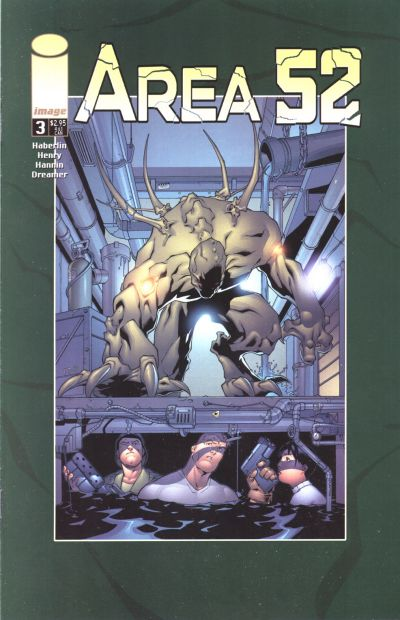 Cover for Area 52 (Image, 2001 series) #3