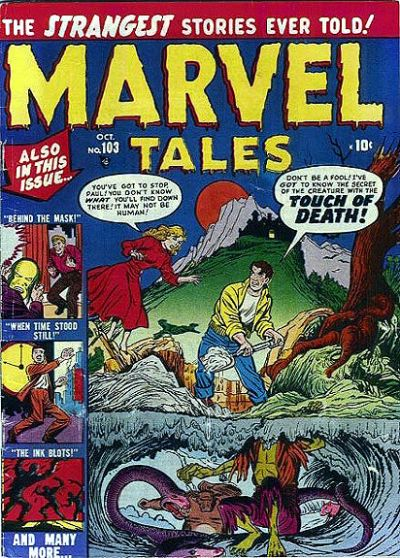 Cover for Marvel Tales (Marvel, 1949 series) #103