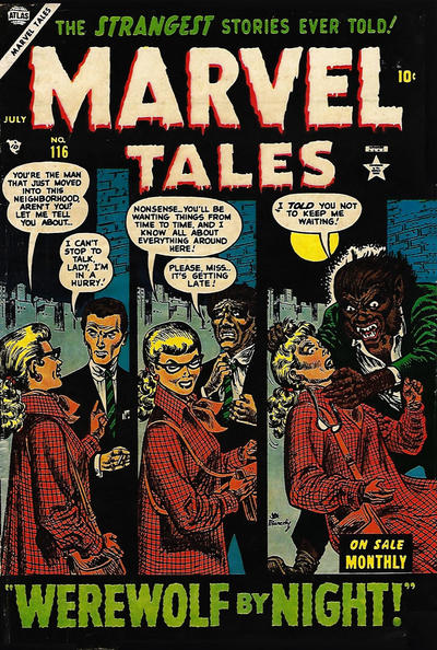Cover for Marvel Tales (Marvel, 1949 series) #116