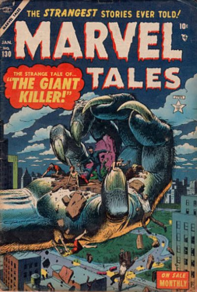 Cover for Marvel Tales (Marvel, 1949 series) #130
