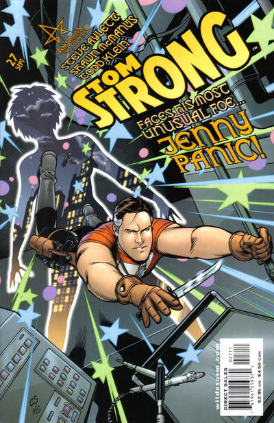 Cover for Tom Strong (DC, 1999 series) #27