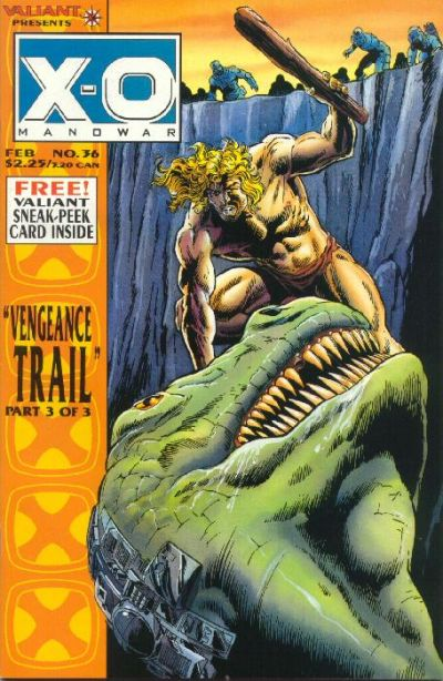 Cover for X-O Manowar (Acclaim / Valiant, 1992 series) #36
