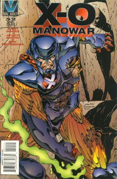 Cover for X-O Manowar (Acclaim / Valiant, 1992 series) #52