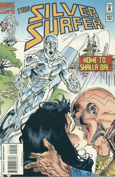 Cover for Silver Surfer (Marvel, 1987 series) #101
