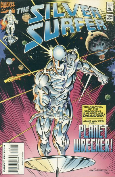 Cover for Silver Surfer (Marvel, 1987 series) #104