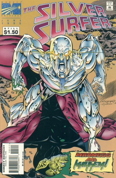 Cover for Silver Surfer (Marvel, 1987 series) #105