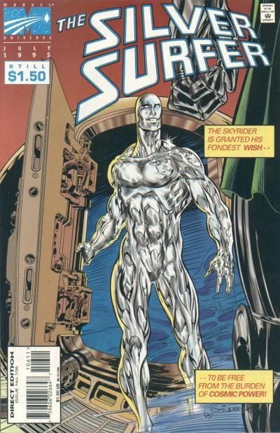 Cover for Silver Surfer (Marvel, 1987 series) #106
