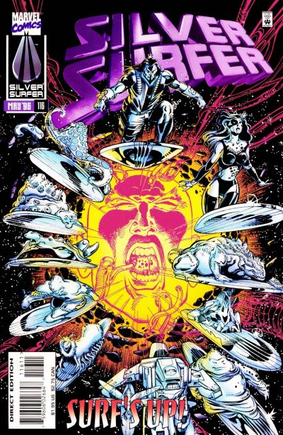 Cover for Silver Surfer (Marvel, 1987 series) #116