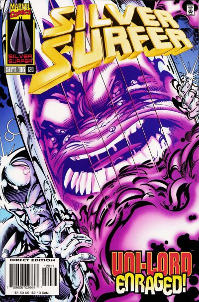 Cover for Silver Surfer (Marvel, 1987 series) #120