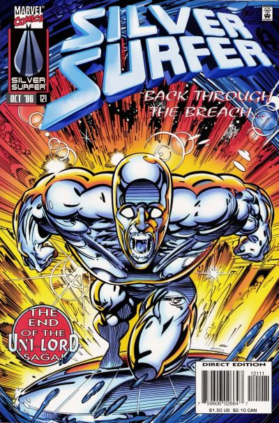 Cover for Silver Surfer (Marvel, 1987 series) #121