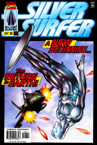 Cover for Silver Surfer (Marvel, 1987 series) #123