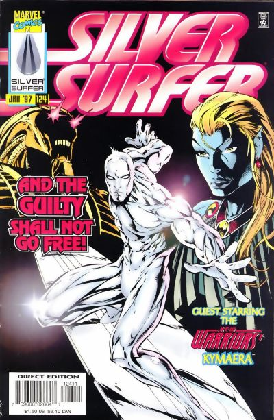 Cover for Silver Surfer (Marvel, 1987 series) #124