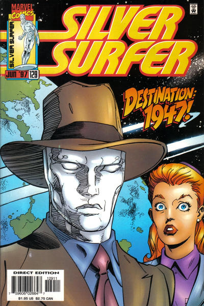 Cover for Silver Surfer (Marvel, 1987 series) #129