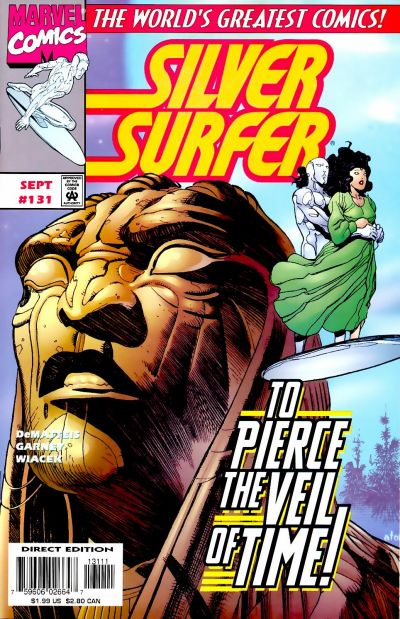 Cover for Silver Surfer (Marvel, 1987 series) #131