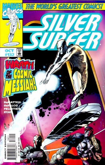 Cover for Silver Surfer (Marvel, 1987 series) #132