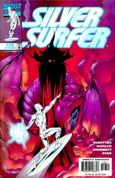 Cover for Silver Surfer (Marvel, 1987 series) #136