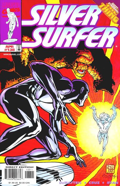 Cover for Silver Surfer (Marvel, 1987 series) #138