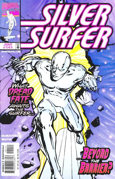 Cover for Silver Surfer (Marvel, 1987 series) #141