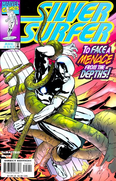 Cover for Silver Surfer (Marvel, 1987 series) #142