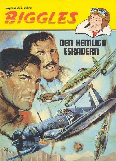Cover for Biggles (Semic, 1984 series) #7 - Den hemliga eskadern