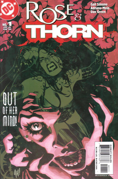 Cover for Rose and Thorn (DC, 2004 series) #1