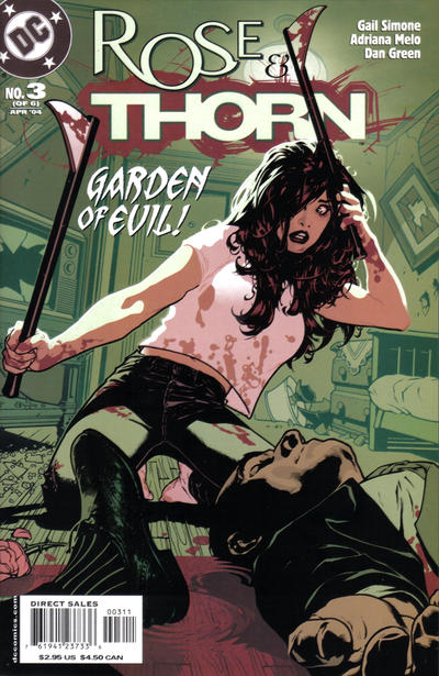Cover for Rose and Thorn (DC, 2004 series) #3