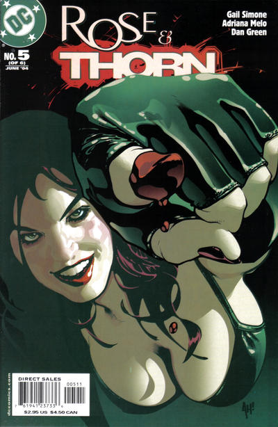 Cover for Rose and Thorn (DC, 2004 series) #5