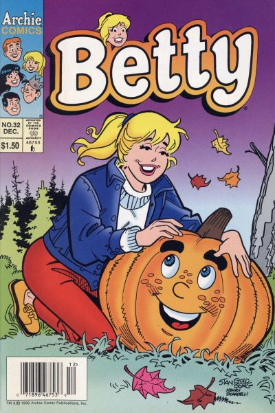 Cover for Betty (Archie, 1992 series) #32