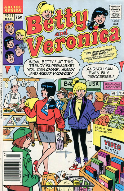 Cover for Betty and Veronica (Archie, 1987 series) #18