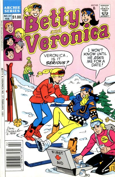 Cover for Betty and Veronica (Archie, 1987 series) #37
