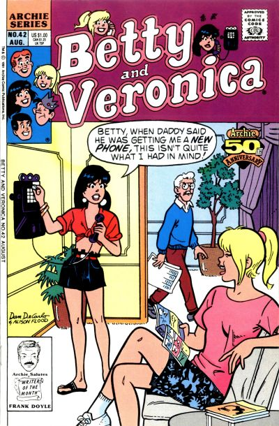Cover for Betty and Veronica (Archie, 1987 series) #42