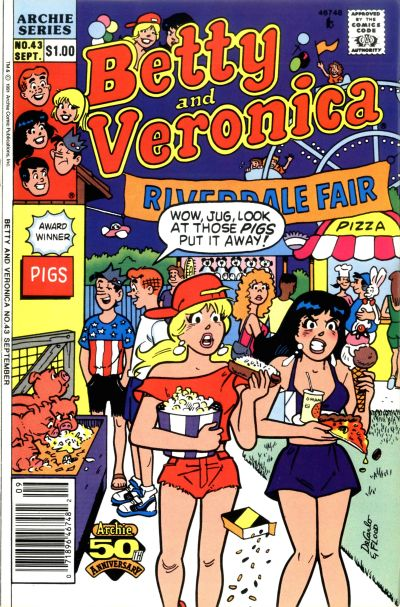 Cover for Betty and Veronica (Archie, 1987 series) #43