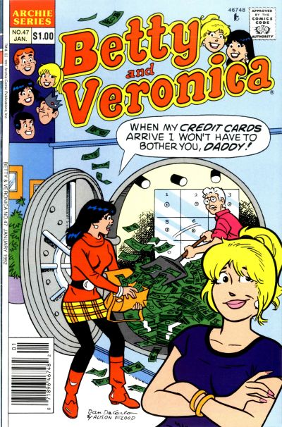 Cover for Betty and Veronica (Archie, 1987 series) #47