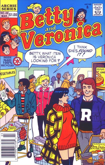 Cover for Betty and Veronica (Archie, 1987 series) #49