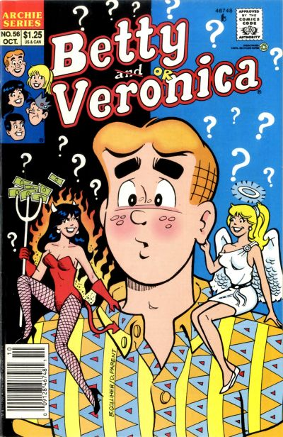 Cover for Betty and Veronica (Archie, 1987 series) #56